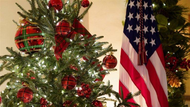 زينة عيد الميلاد في البيت الأبيض تحمل طابعاً مميزاً هذا العام!